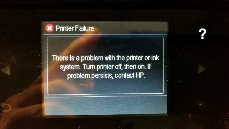 Error during startup