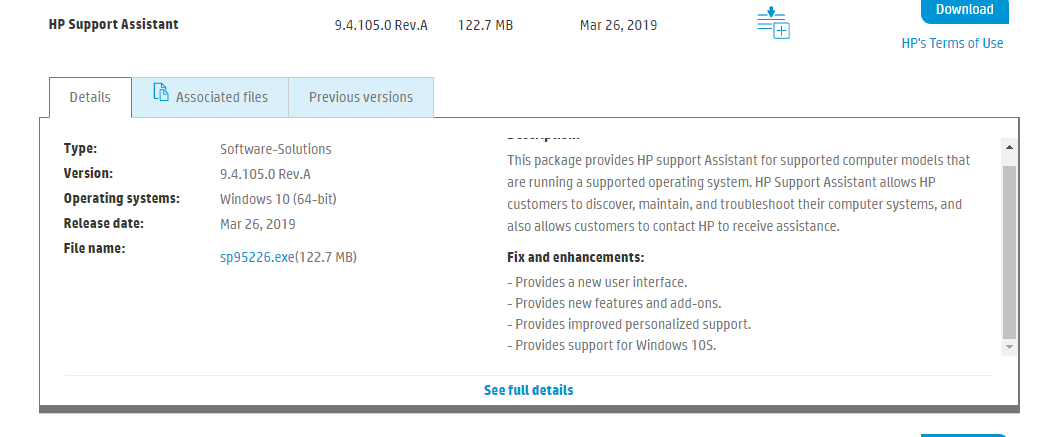 HP Support Assistant Issues - HP Support Community - 7043792