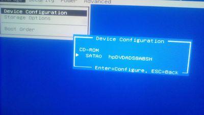 2: no hdd detected