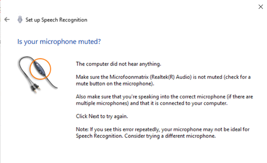 Solved: Microphone: system says all is fine, but no app
