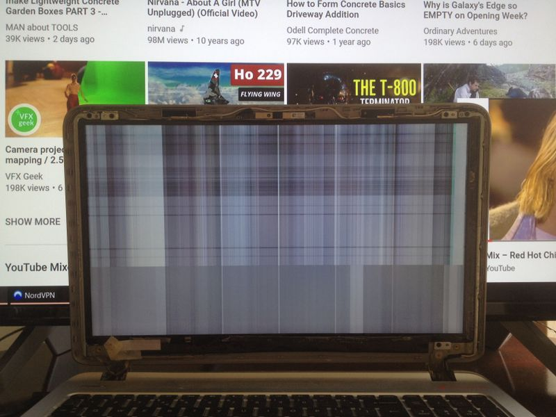 HP Envy 5 K Series Laptop Screen Working Intermittently - HP
