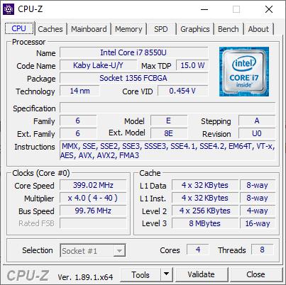 CPU stuck at 400MHz -- HP Probook 470 G5 - HP Support