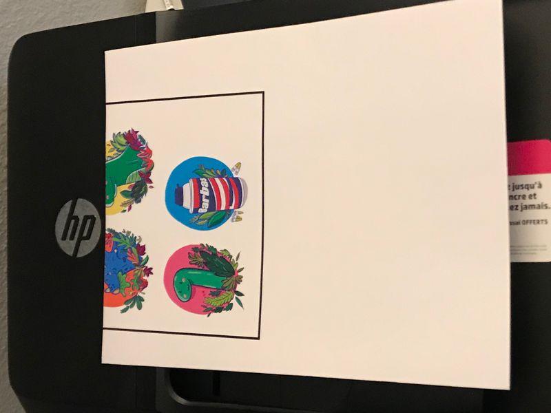 photo regarding Glossy Printable Vinyl referred to as Printer wont feed inkjet printable vinyl - HP Assistance