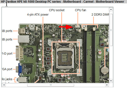 511-CPU Fan Not Detected on H8-1017cb Pavilion Desktop Compu