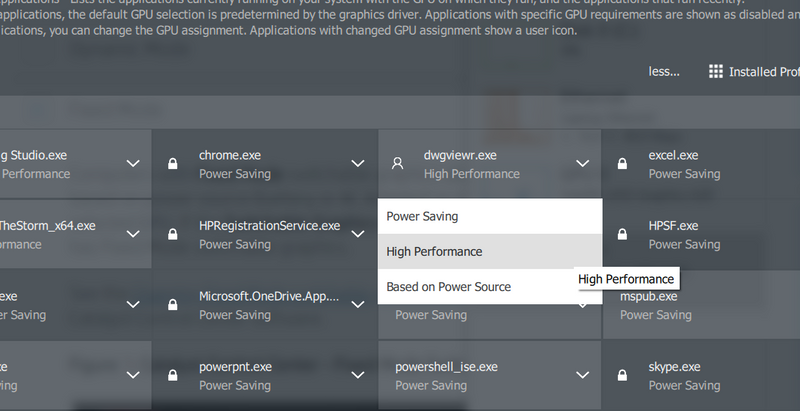 HP Zbook 14u G5 - Use dedicated AMD Radeon PRO WX3100 grapic