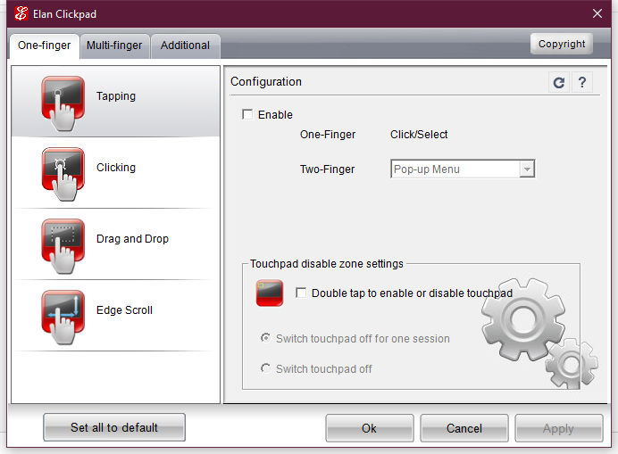 Solved: Disable tap to click - HP Support Community - 5905931