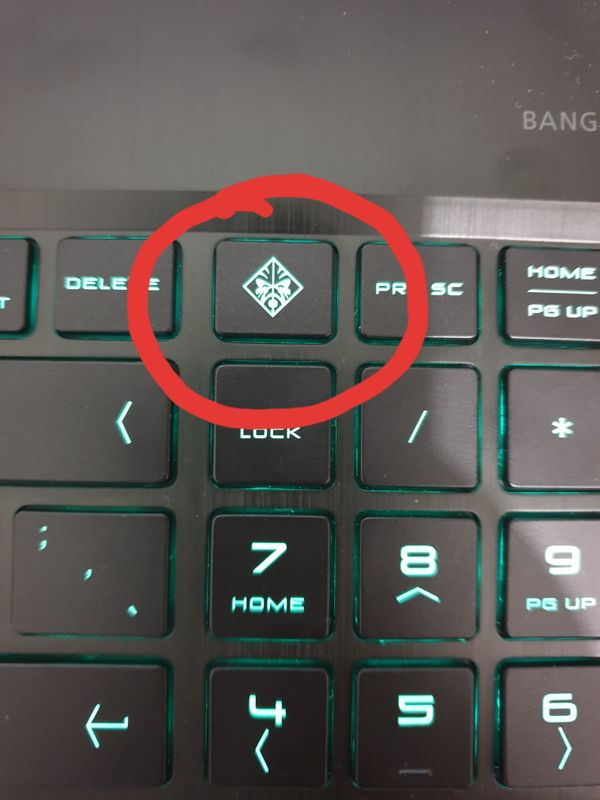Hp Omen Button
