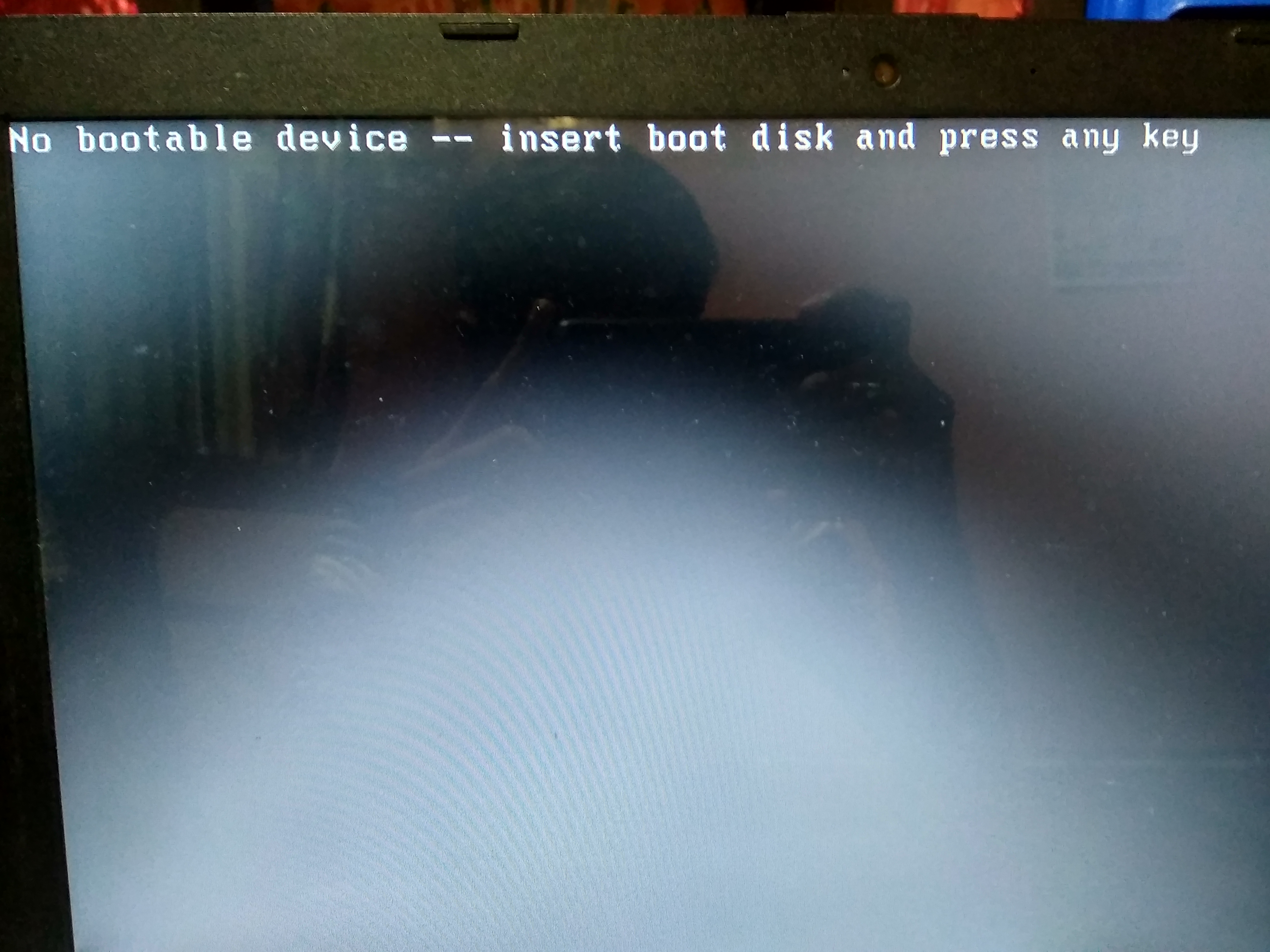 My Laptop Shows The Message No Bootable Device Insert Boot D Hp Support Community 7204902