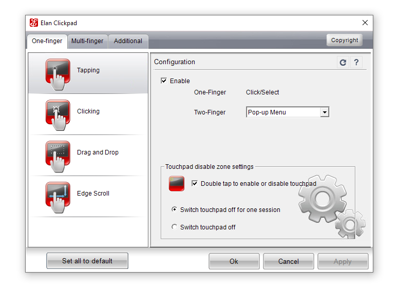 cannot turn off touchpad - HP Support Community - 7096443