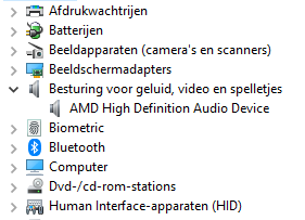IDT High Definition Audio Codec is gone...