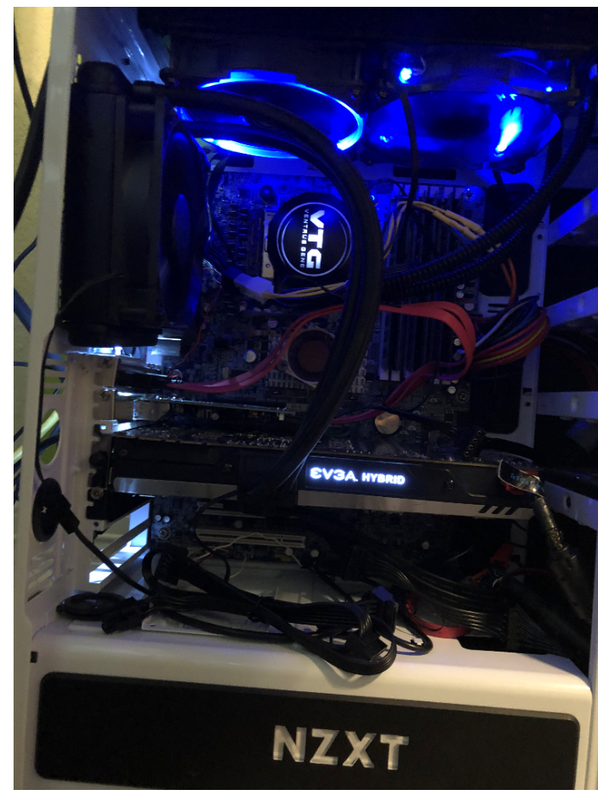wiin10 & gtx1070 all liquid cooled system
