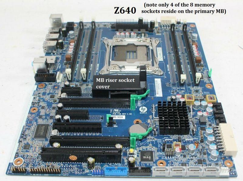 Z640 Motherboard