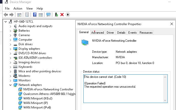 GEFORCE 8200 Graphics configuration error.png