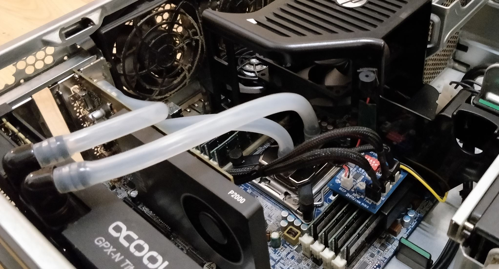 3rd Party Liquid Cooling Mod Z620 The Javato Method Hp Support Community 6955466