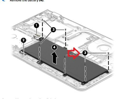 red arrow points to M.2 slot