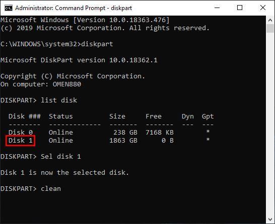 cmd diskpart clean.jpg