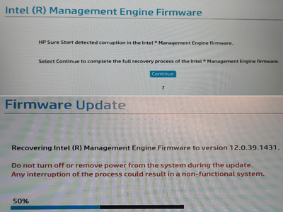 Intel Management Engine Firmware Update