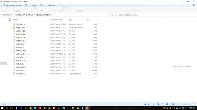this is a snapshop of the files in the extracted folder