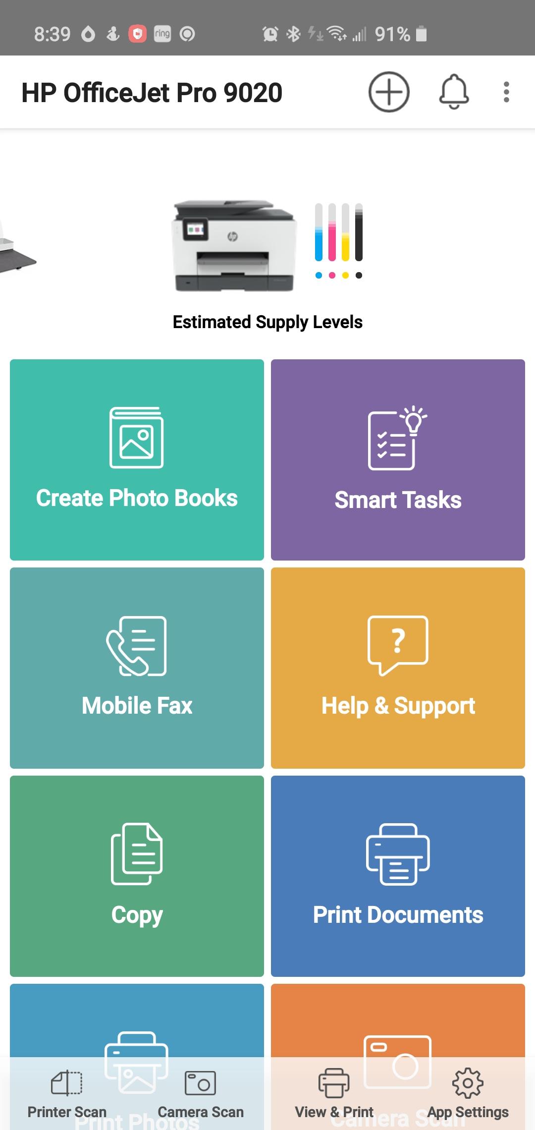 Solved: HP Smart app Advanced Settings (EWS) option ...