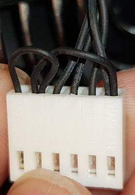 CP/U fan connector