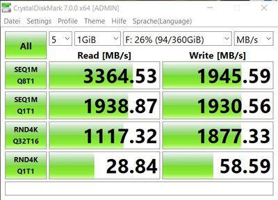 512 GB NVMe standard 1.2