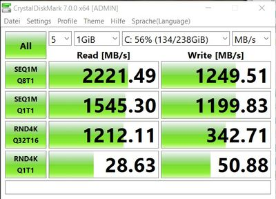 256 GB NVMe standard 1.0