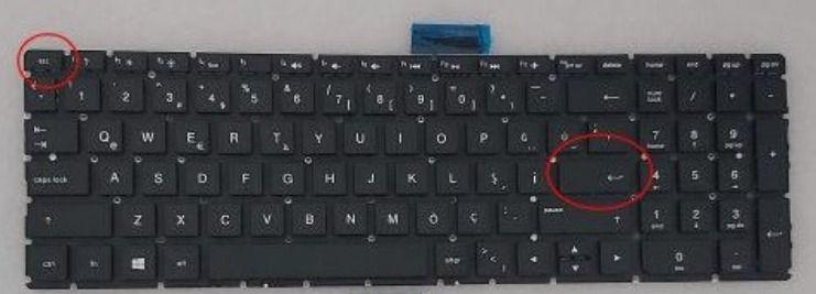 Turkish Layout Keyboard