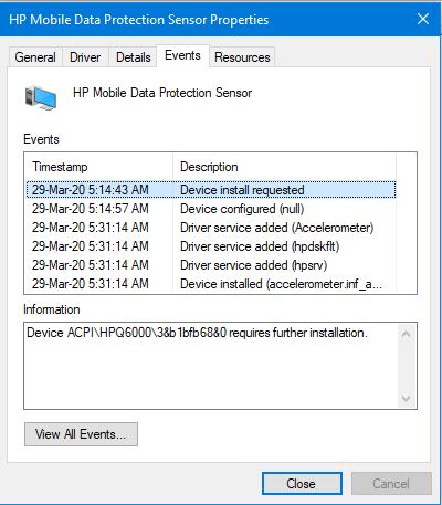 Driver data 10 windows mobile protection sensor hp DRIVER HP