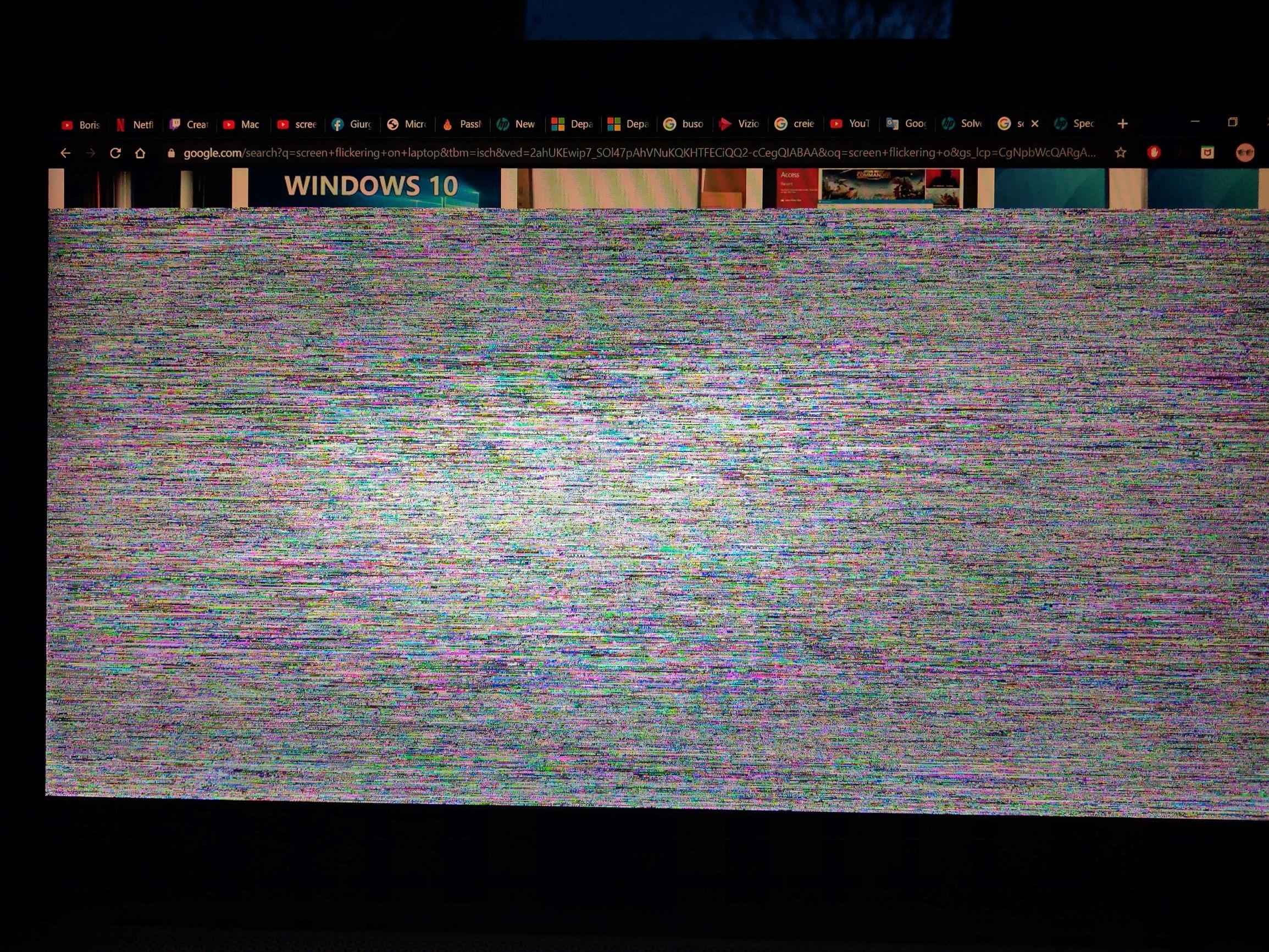 Elitebook Screen Flickering Hp Support Community 7581645