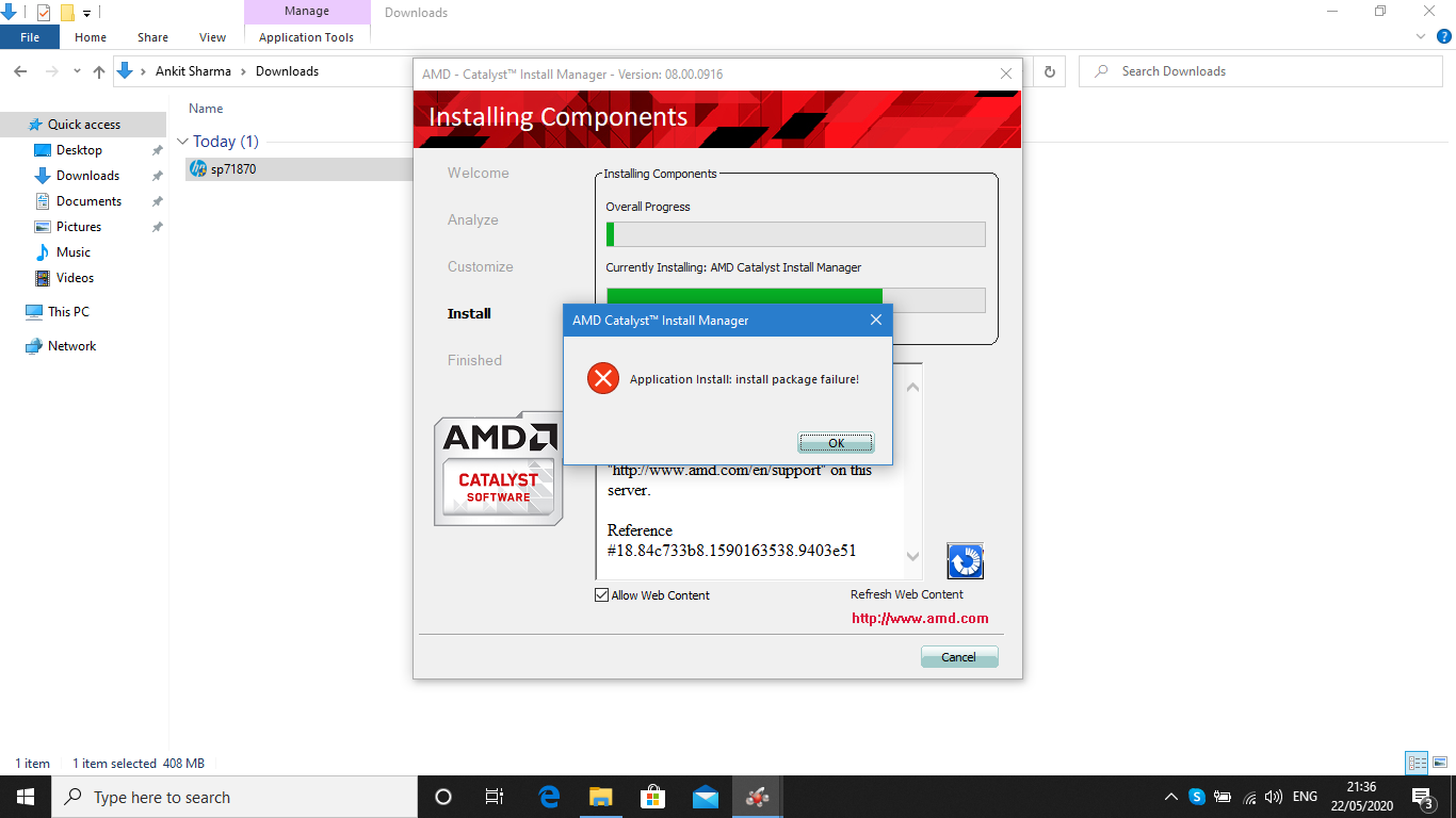 Amd Radeon Hd 8670m Problems Windows 10 Home Hp Support Community 7617557