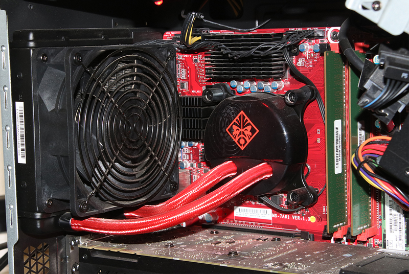 Picture from an Omen with the cooling option