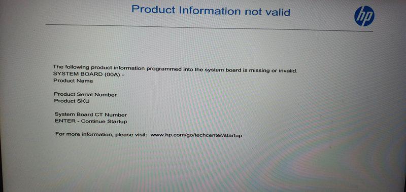 Boot screen 1