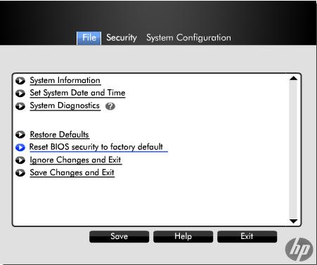 Solved: Reset BIOS Password EliteBook 8540w - HP Support