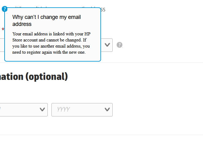 To com cannot email used register be address Cannot register