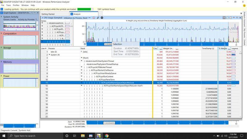 Windows profile inspector