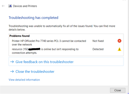Devices Printers Troubleshooting Result.PNG