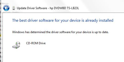 Hp pcs cd/dvd drive is not detected (windows 10, 8)   hp.