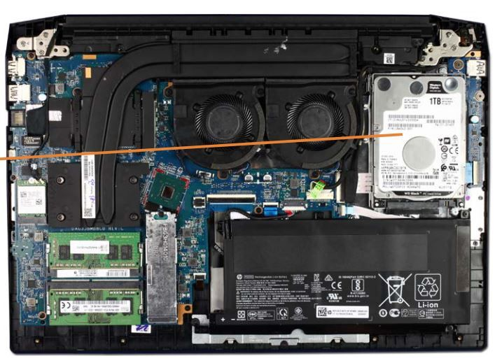 HP 16in with harddrive.JPG