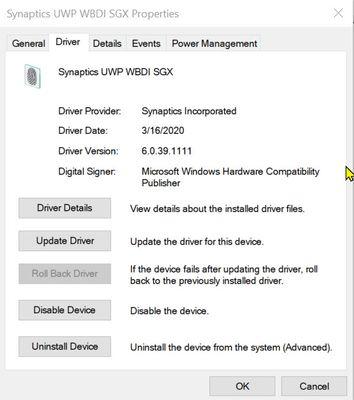 Current downloaded driver installed.jpg