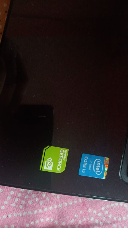 my laptop have these stickers for intel and nividia