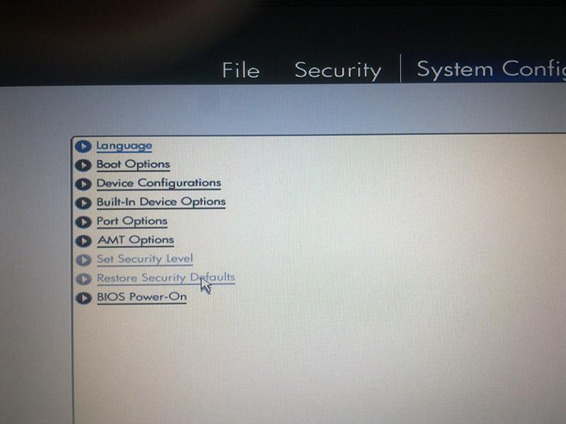 ME - BIOS sync error - aborting