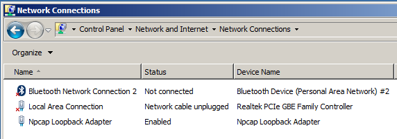 network and internet - network connections
