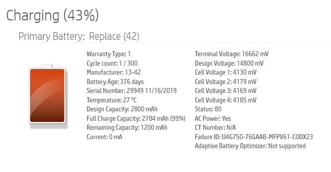 I refreshed the diagnostics tool for the new battery!