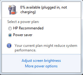 Solved: HP G62 Plugged in | Not Charging  - HP Support Community