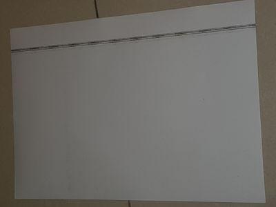 PROBLEM: Black streaks on prints