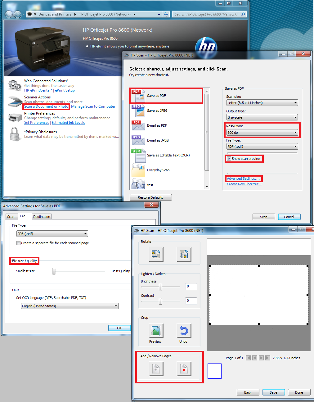 Solved: scan multiple pages - HP Support Community - 1473673