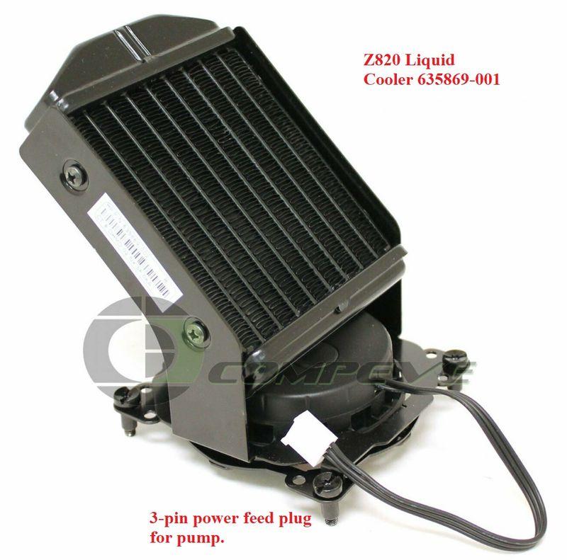 Z820 powered liquid cooler