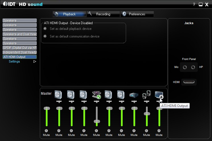 Idt High-definition HD Audio Driver