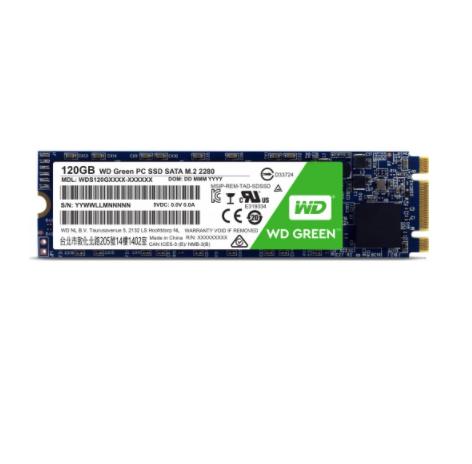 Is Western Digital 120GB SATAIII M.2 2280 SSD