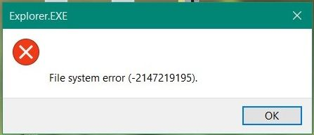 i got this error message